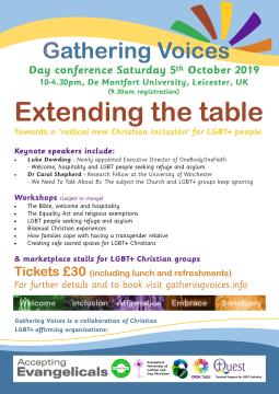 GV Conference 2019 flyer